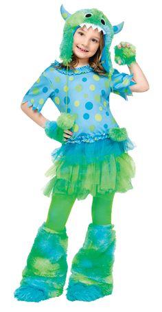 child monster miss costume halloween - Halloween Children Costumes