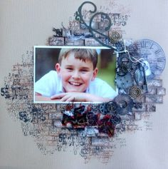 My honourable mention for the 2013 scrapbooking memories masters competition