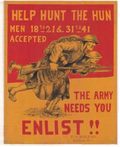 Help Hunt The Hun - World War I Collection Ww1 Propaganda Posters, History Images, Lest We Forget, World Domination, World War One, Book Signing, British History, Wwii, Thriller