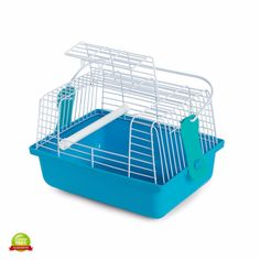 Bird Travel Cage Carrier Case Pet Crate Plastic Hamster Compact Small Animals