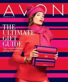 Avon The Ultimate Gift Guide Campaign 24 2017 through Campaign 1 2018 Brochure Brochure Online, Avon Brochure, Avon 2017, Avon Catalog, Avon Online, Online Deals, The Ultimate Gift, Avon Representative, Holiday Gift Guide