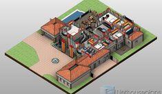 A Luxury 5 Bedroom Double Storey House Plans For Sale | NethouseplansNethouseplans