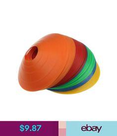 Training Aids 10Pcs Disc Cones Soccer Football Field Marking Coaching Training Agility Elegant #ebay #Lifestyle