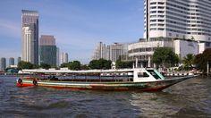 Bangkok river boat by joolsgriff