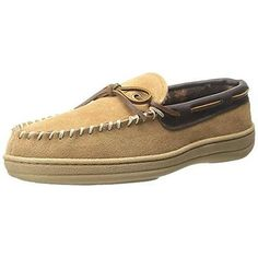 10dabd2d60d6b1 Florsheim 3020 Mens Tan Suede Slip On Loafer Slippers Shoes 10 Medium (D)  BHFO