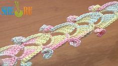 Вязание крючком Урок 46 Объемный шнур связанный крючком
