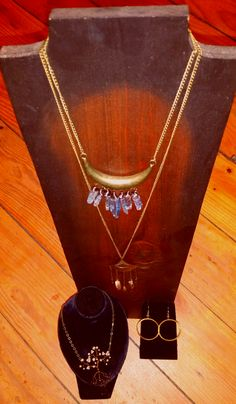 Beautiful one-of-a-kind pieces including sterling silver, mixed media, gold, vinyl, precious stones,and more. Prices start at $10 and range through $500. Stop in to see new inventory and artists joining us daily.