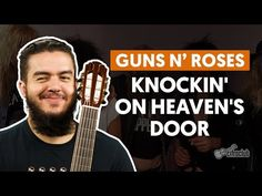 Knockin' On Heaven's Door - Guns N' Roses (aula de violão) - YouTube