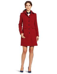 Amazon.com: Calvin Klein Women's 3/4 Single Breasted Coat: Clothing
