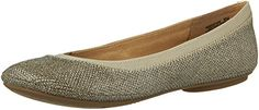 Bandolino Women's Edition Fabric Ballet Flat,Gold ,9 M US *** You can find out more details at the link of the image.
