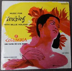 1955 Wonderful BILLIE HOLIDAY Classic Jazz Standards...'Music for Torching' LP...Columbia Records...Jazz Record...1950s Female Jazz Vocalist by SlimandSugar on Etsy