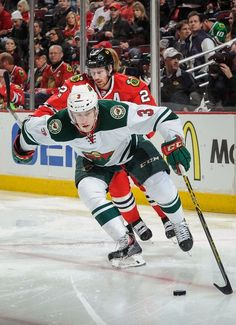 The National Hockey League (NHL) pits 30 teams who play against each other throughout the regular season in North America with the goal of earning a playoff Hockey Shot, Ice Hockey Teams, Hockey Stuff, Minnesota Wild Hockey, Minnesota Vikings, Wild North, Hockey Boards, Nhl News, National Hockey League