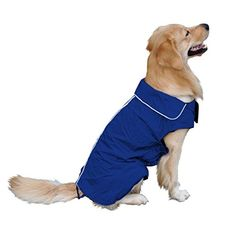 Adarl Warm Waterproof Raincoat Jacket Coat Clothes Outdoor Rain Coat For Puppy Pet Dog Cat ** Click on the image for additional details.(This is an Amazon affiliate link and I receive a commission for the sales)