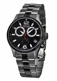 Golana Aero Pro Black Swiss Watch.