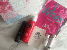 My October Birchbox - by StrictlySal. She LOVES When Travelmate Sheet Mask! It was just what she needed after a long gloomy tiring week.