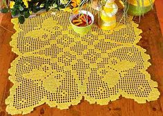 }}{{ decor crochet filet work with diagram
