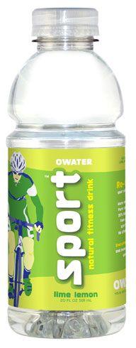 Lime Lemon OWATER Sport Water