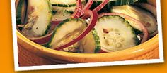 Famous Dave's: Recie from the vault -- Fire and Ice Cukes & Onions