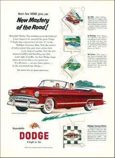 171 best dodge 1950 1955 images on pinterest antique cars 1953 dodge coronet convertible publicscrutiny Choice Image