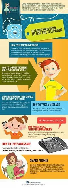 Tips for Telephone use: Answering & Making Calls, Taking & Leaving Messages
