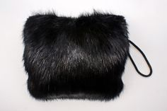 Vintage by Pamela Simon - Cleaver Muff.  Comes in Brown and Black, Beaver Fur.