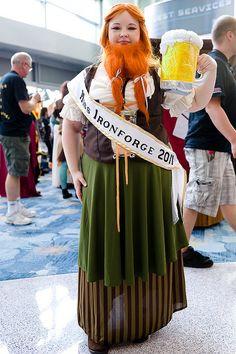 Blizzcon 2011 - Miss Ironforge, via Flickr.