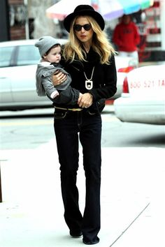 Mom fashion icon!