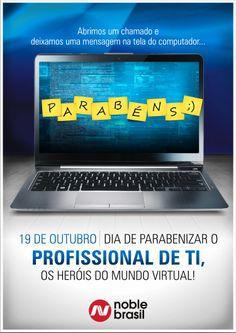 19 de outubro - Dia do profissional de TI