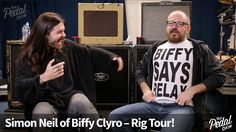 That Pedal Show – Simon Neil From Biffy Clyro Shows Us His Touring Rig