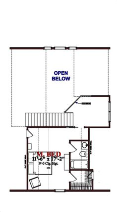 Cottage Style House Plan - 2 Beds 2 Baths 1536 Sq/Ft Plan #63-354