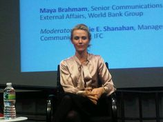 Jen spoke at the World Bank in Washington D.C. for #womensday! #missrep