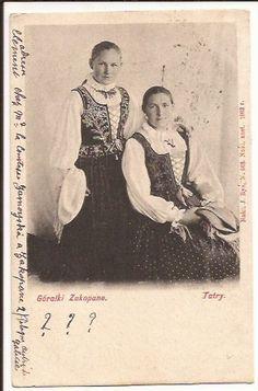 TATRY ZAKOPANE GÓRALKI 1902 ROK