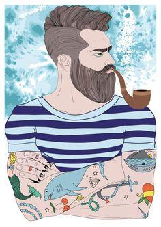 Max, der Matrose | Liebe | Echte Postkarten online versenden | MyPostcard.com