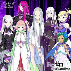 re zero witch Kawaii Anime Girl, Anime Art Girl, Manga Girl, Anime Play, Anime Manga, Manga Characters, Fantasy Characters, Anime Comics, Character Drawing