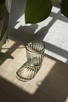 In spring our Raami dining collection designed by Jasper Morrison will be complemented by a new limited edition recycled glass tumbler, made solely of waste glass from the Iittala Glass Factory. Shadow Photography, Still Life Photography, Minimal Photography, Lumiere Photo, Beige Aesthetic, Recycled Glass, Light And Shadow, Belle Photo, Aesthetic Pictures