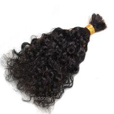 High Quality Virgin Human Braiding Hair Bulk Loose Curly Bulk Hair For Braiding No Attachment Brazilian Virgin Hair
