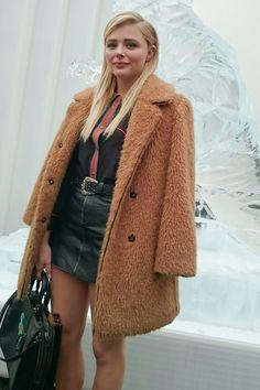 CHLOE MORETZ at Coach Fall 2016 Fashion Show at New York Fashion Week 02/16/2016