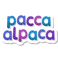 Pacca Alpaca - Language Learning For Children  - YouTube