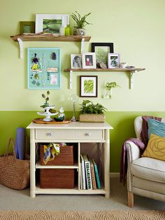 Grab a Seat -Storage Solutions Using Baskets @Better Homes and Gardens