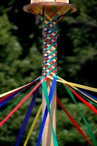 May pole for Renaissance week