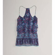 AE Tiered Cami - American Eagle Outfitters
