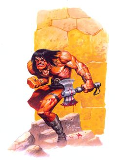 Conan by Bruce Timm