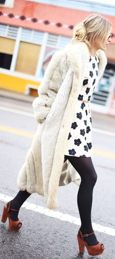 One of the best looking Faux Fur coats I have ever seen.