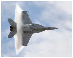 Shockwave (not breaking the sound barrier as some describe) - this is an F18F