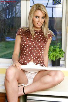 Hot panty upskirt