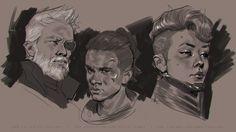 ArtStation - August 2017 Doodles, John Grello