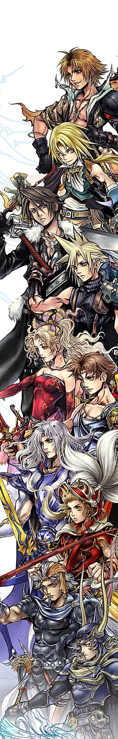 Final Fantasy - Dissidia / Fight / RPG / Playstation / Villains Heroes / Videogame