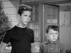 "Tony Dow & Jerry Mathers - ""Leave it to Besver,"" which ran on television from 1957 to 1963"