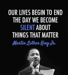 How MLK's famous quotes play a role in the fight to keep children protected from sexual abuse.: