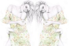 Fashion Illustration by Anabelle King